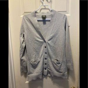 3/20$ Eddie Bauer cotton cashmere button sweater
